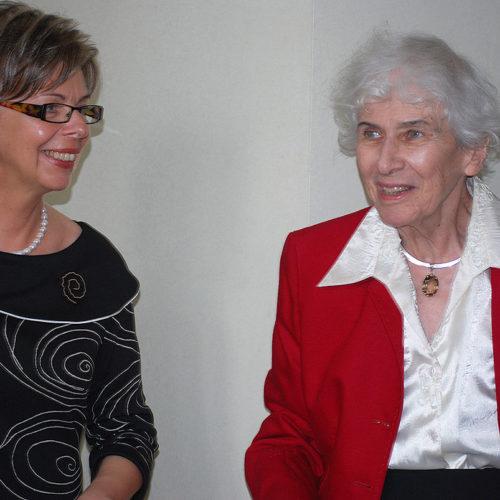 Urszula Chęcińska i Joanna Kulmowa