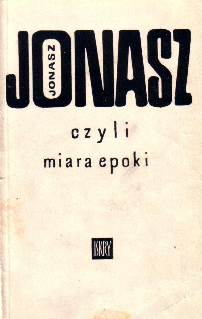 Jonasz czyli miara epoki - książka