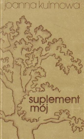 Suplement mój - książka