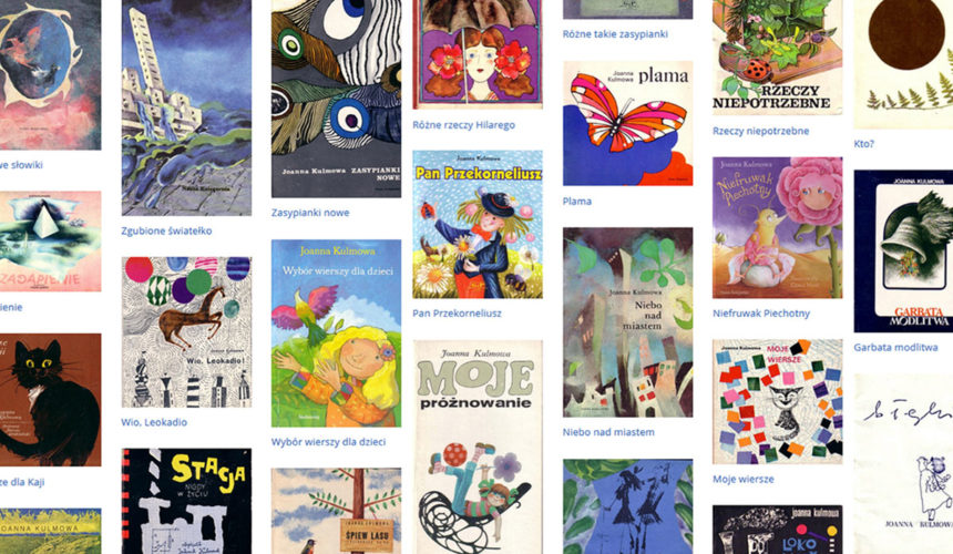 Publikacje dla dzieci w archiwum Pracowni