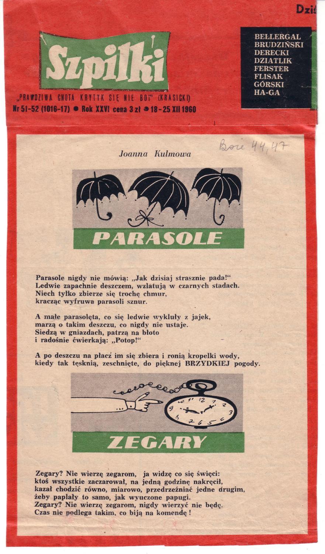 Prasówka 04 - Parasole