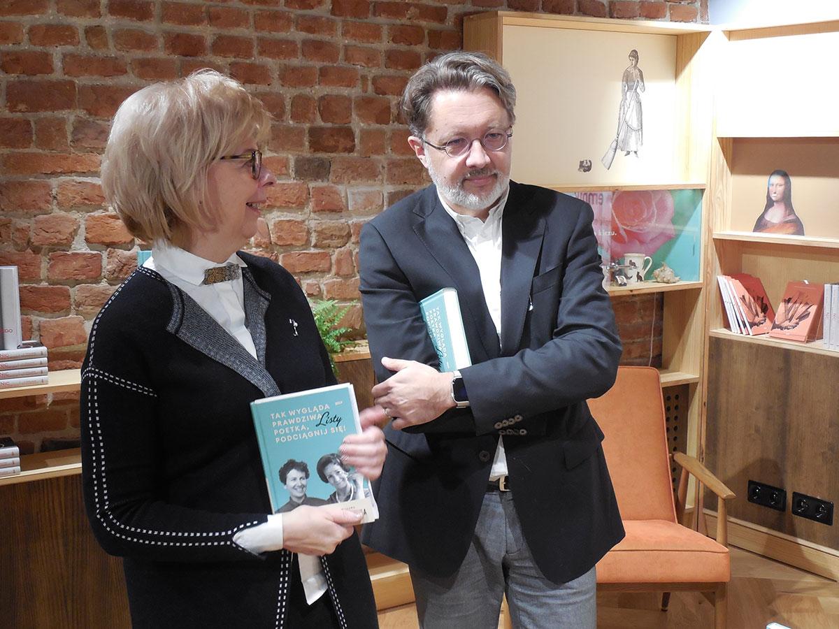 Kulmowa-Szymborska promocja książki